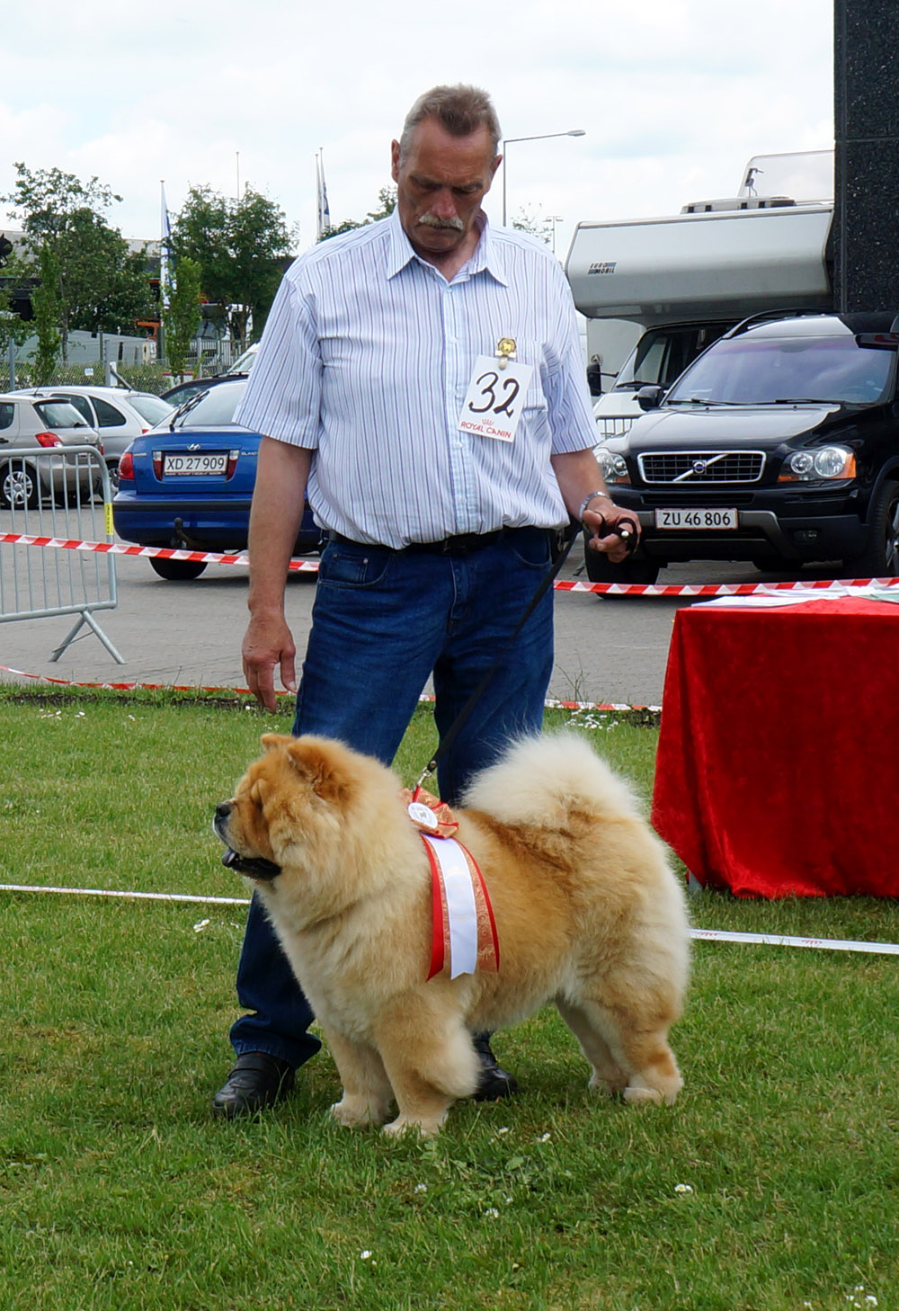 Best stud dog: CH Mi-Pao´s Red Sumac