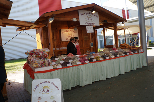 From the showground - lots of sweets